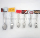 12PCS Cheap Stainless Steel Spoon Set with Card