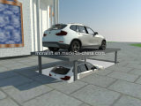 Underground Garage Car Parking Lift with Car Top Roof