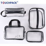 Good Quality Factory Supply Wholesale Price PVC Cosmetic Bag with Handle and Zipper