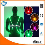 Night Reflective Vest LED Optics Vest for Running