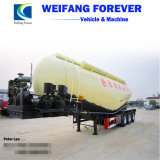 China Factroy Price Bulk Cement Tank Semi Trailer with V-Shapecompressor