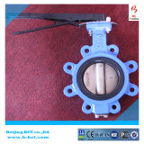 Lt Type Soft Sealing Butterfly Valve with Handle, Rubber Liner Bct-Lt-05