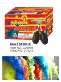 Color Smoke Grenade Fireworks with Fuse