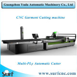Computerized Automatic Straight Knife Vibrating Textile Fabric Cloth Cotton Cutter Cutting Machine Plotter Without Waste