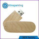 Green Wooden USB Key with Best Price