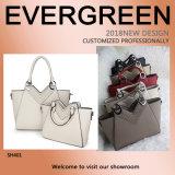 Fashion Designer Women Tote Bag Set PU Leather Big Size Lady Handbag Wholesale Sh401