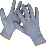 PU Coated Nylon Polyester Gloves