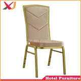 Stackable Steel Aluminum Hotel Wedding Banquet Chair for Dining Furniture