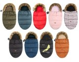 Baby Warm Travel Sleeping Bag, Double Zipper Sleeping Bag, Can Be Taken Apart
