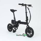 Black Color F1 Mini Folding E Bike