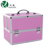 Professional Aluminium Cosmetic Case with Trays