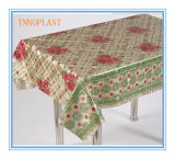 PVC Gold Laser 3D Tablecloth in Roll