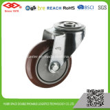Red PU Caster Wheel (G103-36EC080X32)