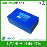 LiFePO4 Battery Pack 12V 40ah for Electric Tourist Car