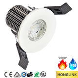 Ce SAA TUV IP65 90mins Fire Rated 8W Dimmable LED Downlight