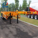 Ebs, ABS 40 Foot Swan Neck Skeleton Type Container Trailer Truck