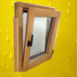 Aluminum Wood Compand Window with Roto Hardware