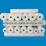 100% Polyester Fabric White Woven Microfiber