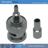 RF Connector BNC Straight Male Plug Crimp for Rg-316u, Rg-174u (BNC-J-C-B-1.5)