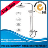 Big Discount for Hotsale Luxury High Quality Stainless & Brass Bathroom Shower Set