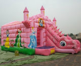 New Inflatable Castle, High Quality Inflatable Slidejumper Game for Children (SL-115)