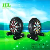 Inflatable Dart Board Football Game for Playing with Magic Tape