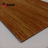 Ideabond ASTM Certificated Popular PE Coated Wooden Aluminum Composite Panel