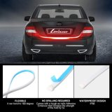 Truck Tailgate Light Bar Strip - [Brake, Turn Signal, Running, Reverse Backup] - Weatherproof LED Flexible No-Drill - 5 Function Tail Lights