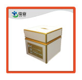 Smooth Surface Gold Printing High Quality Cosmetic Cardboard Box