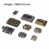 Furniture Hardware Fittings/Accessories Lock Catch, Hasp Lock, Toggle Latch, Bronze Colour Lock Buckle for Jewelry Boxes, Watch Cases, Wine Boxes, Lock Catch