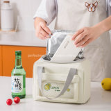 Insulated Tote Aluminum Foil Picnic School Kid Lunch Cooler Bag