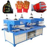 TPR Gloves Label Logo Badge Pattern Moulding Heat Pressing Machine