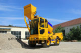 New Condition and Engineers Available to Service Machinery Overseas After-Sales Service Provided Self-Loading Concrete Mixer Truck