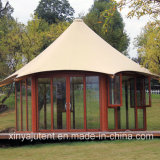 Outdoor Luxury Tent for Hotel Clamping Tent with Glass