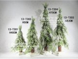 Home Decoration PE Artificial Christmas Gift Tree