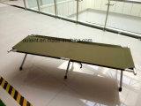 Aluminium Military Folding Camping Bed 600d PVC Oxford Cloth