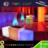 Event Furniture Glowing Illuminated Outdoor LED Bar Table