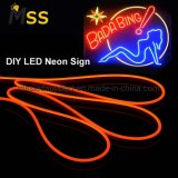 LED Neon Flex DV12V 120LEDs Sing Side Silicon Material 2835 Neon Light for Sign Logo