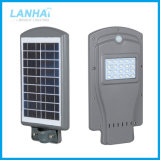 Integrated Photocell Sensor Road Lamp 20W All in One LED Solar Street Light for Outdoor Lighting