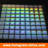 Golden 3D Laser Security Hologram Label Sticker