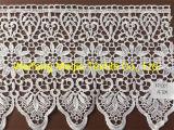 Wide Embroidered Venice Lace Trim Floral Guipure, Renda Guipir Guarnicao