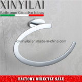 Fashion Towel Ring with Chrome Finish for Bathroom Accessories