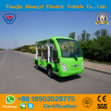 Battery Powered Classic Shuttle Electric Sightseeing Tourist Coach with High Quality