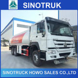 Sinotruk 6X4 HOWO 371HP 25000L Fuel Tank Truck for Sale