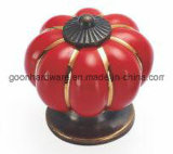 Ceramic Pumpkin Knob - G08208