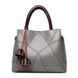 Fashion Flower Tassel PU Leather Shoulder Bags Women Tote Handbags
