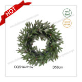 23'' Party Supplies Type Plastic Christmas Wreath Christmas Decorations Craft