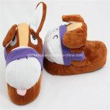 Cute Animal Dog Winter Warm Plush Slippers (GT-09788)