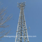 3-Legged Steel Tube Communication Lattice Tower