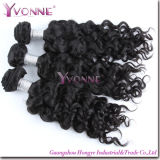 Fashion Curly Hair Virgin Remy Cambodian Human Hair Weft